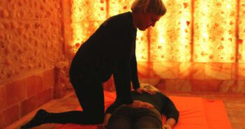 Shiatsu in grotta di sale