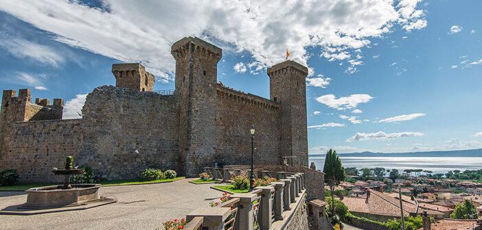   #CASTELLIDELLATUSCIA   Rocca Monaldeschi – BOLSENA