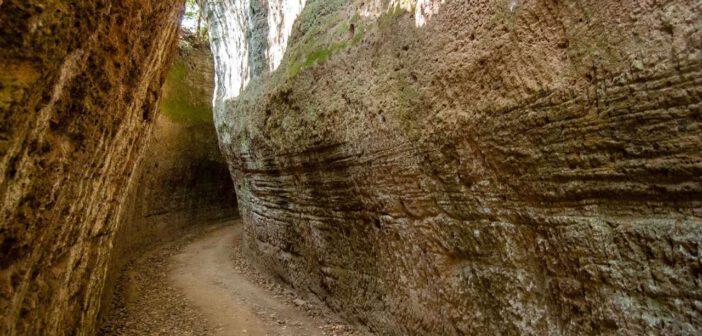 | 8 MAGGIO 2021 | SORANO – Con Percorsi Etruschi lungo la via cava di San Rocco