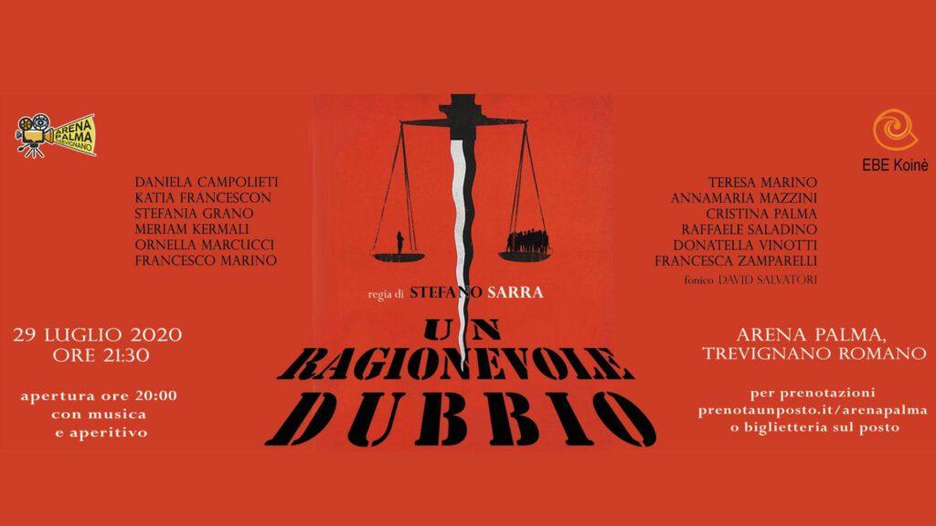 | 29 LUGLIO 2020 | TREVIGNANO ROMANO - Drink, musica e teatro sotto le stelle!