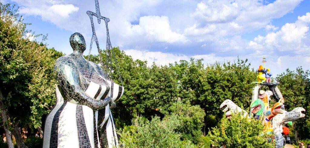| #DINTORNIDELLATUSCIA |    Il Giardino dei Tarocchi - CAPALBIO