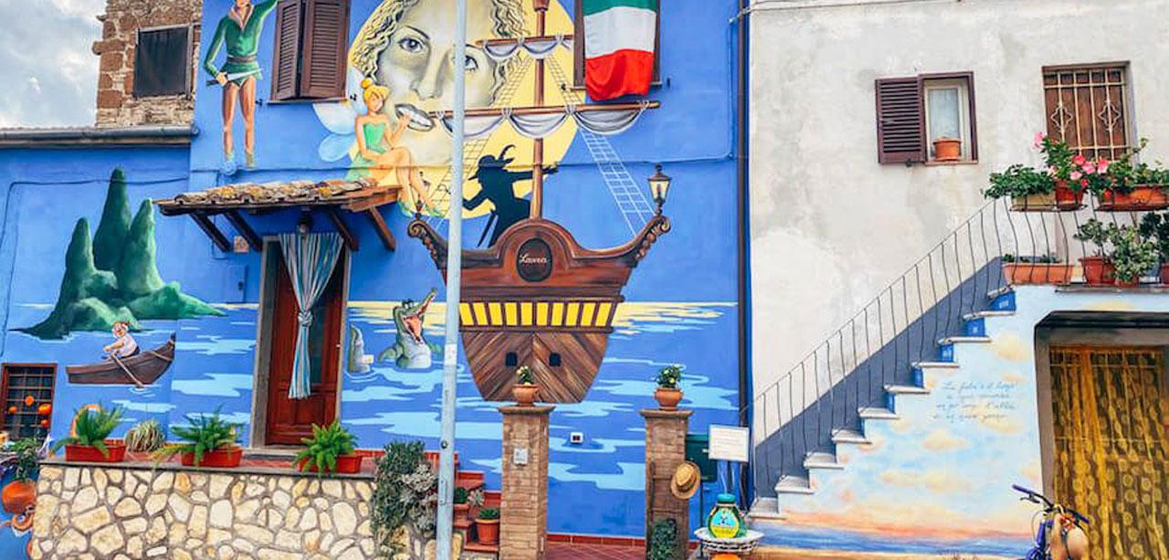 | #BELLEZZEDELLATUSCIA | Il paese delle fiabe - SANT'ANGELO DI ROCCALVECCE